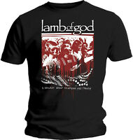 LAMB OF GOD Enough Is Enough A Violent Need To Speak The Truth T-SHIRT OFFICIAL