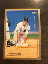 1999 Topps Jeff Abbott Chicago White Sox 271