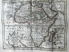 African Continent Guinea Egypt Congo Madagascar 1780 Holtrop miniature map