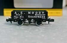 Graham Farish 377-060 N Scale 5 Plank Wagon A.E.Moody C-9 New In Box