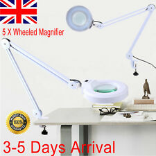 Desk top Magnifying Lamp LED 5 Inch SMD 5 Diopter magnifier desk light White 5X