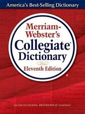 MERRIAM-WEBSTER'S COLLEGIATE DICTIONARY (9780877798095) (HARDCOVER) 11th ed