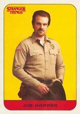 Stranger Things Season 1 CHARACTER STICKER Insert Card #2 / JIM HOPPER