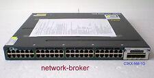 Cisco WS-C3560X-48T-S  48 Port 10/100/1000 + 1x C3KX-PWR-350WAC + C3KX-NM-1G