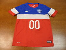 Authentic Team USA 2014 World Cup Nike Youth Soccer Jersey #00 Size S Dri-Fit