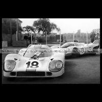 #pha.021312 Photo PORSCHE 917 LH RODRIGUEZ-OLIVER 24 HEURES DU MANS 1971 Auto