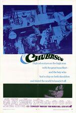 CHUBASCO Movie POSTER 27x40 Richard Egan Christopher Jones Susan Strasberg Ann