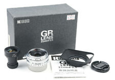 Mint- RICOH GR 21mm F/3.5 Silver Leica L39 Screw Limited Edition w/ Viewfinder