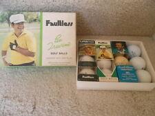 Vintage golf balls & package LEE TREVINO Faultless, SuperMex. Also Arnold Palmer
