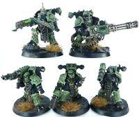 Warhammer 40K Nurgle Death Guard Chaos Space Marines Havocs Kill Team