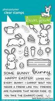 Lawn Fawn, clear stamp, some bunny