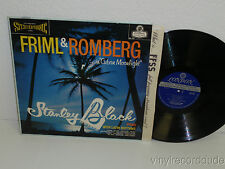 STANLEY BLACK Friml & Romberg in Cuban Moonlight LP London PS191 WB DG Blue back