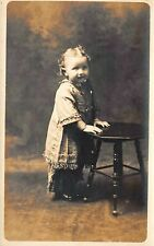 # M2227     YOUNG  CHILD  REAL  PHOTO   POSTCARD,