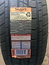 4 New 225 70 16 Timberland Cross Tires