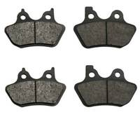 3 cyl Volar Front /& Rear Brake Pads for 1994-2001 Triumph Trophy 900