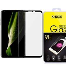 Khaos For LG V30 3D Full Cover Tempered Glass Screen Protector -Black