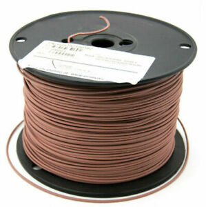 1000 Foot Spool 18AWG Brown Wire PN: H05792190102
