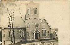 Brewer Maine~Baptist Church~c1910 Postcard RPPC