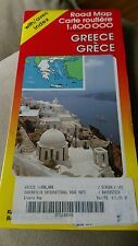Vintage Map Ravenstein Griechenland Greece Greek Grece 1:800000 With Avec Index