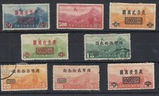 China Airmail Collection of 8 Values MH/VFU J1819