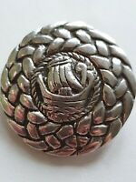 Vintage Sterling Silver Hallmarked Celtic Brooch  - Shipton & Co