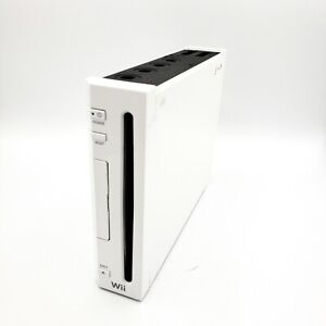 Nintendo Wii White RVL-001 Console Only Tested Missing Door - Read Scrip