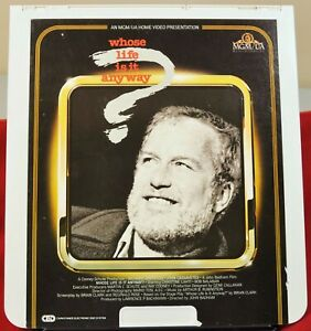 RCA VideoDisc CED - Whose life is it anyway? - MGM, c.1982