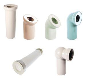 WC-Anschluss Bogen WC-Abfluss Abflussrohr Toilette Ansschlussstutzen Kugelgelenk
