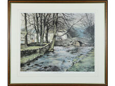 'Winters' End, Malham, Yorkshire Dales' - Limited Edition Signed Print