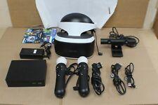 PlayStation VR Bundle CUH-ZVR2 Processor w/ 2 Controllers Bundle