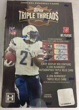 2008 Topps Triple Threads Factory Sealed Football Hobby Box