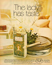 1971 vintage tobacco AD, EVE Cigarettes, for women  050814