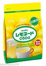 MEITO Instant Lemonade C500 Powder Drink Hot&Cold 470g from Japan
