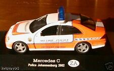 MERCEDES C 2002 POLICE SOUTH AFRICA JOHANNESBURG 1/43