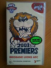 2001 PREMIERS ~ BRISBANE LIONS defeat ESSENDON  ~ AFL GRAND FINAL ~ VHS VIDEO