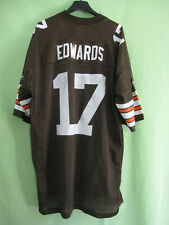 Maillot Cleveland Browns jersey Reebok Edwards #17 Football Americain - XL