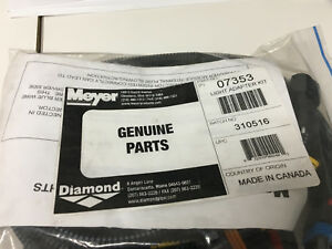 MEYER SNOW PLOW Light Adapter Harness Kit 07353 2007 + TOYOTA TUNDRA Meyer 07353