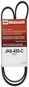 Genuine OEM Motorcraft JK6455C Serpentine Belt for 07-18 Ford Lincoln Mercury