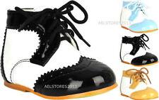 Chaussures larges lacets pour garçon de 2 à 16 ans