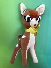 Vintage Walt Disney saw dust stuffed Bambi 1966 ? Plush