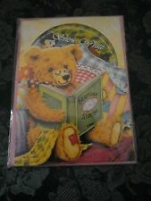 Childrens Birthday Card & Cd which features 3 classic fairytales. Age 2 - 7.NEW.