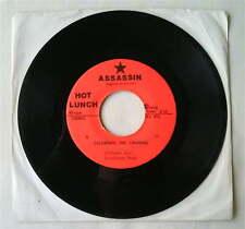 "HOT LUNCH - Dizzy/Celebrate the Criminal 7"" Vinyl RARE US KBD PUNK POWERPOP 1978"