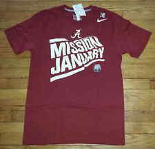 Nike T-shirt Standard Fit M Mission January Crimson Tide Alabama Nwt S/S s3711
