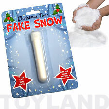 Magic FAKE NEVE Giocattolo Ragazzi Ragazze Natale Natale calza Festa Di Compleanno Borsa Filler