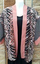 PRIMARK ATMOSPHERE Ladies Short Sleeve Kimono Jacket Size Extra Small
