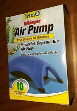Tetra Whisper Air Pump  (Up to 10 Gallon Aquariums) new in the box