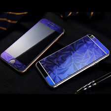 3D Diamond Color Temper Glass Front +Back Screen Protector For iPhone 6s 7 plus