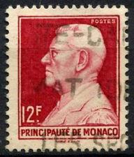 Monaco 1948 SG#371, 12f Prince Louis II Used #A84212