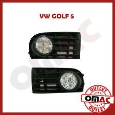 Nebelscheinwerfer Blenden Gitter 2 tlg für VW Golf V