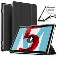 """Magnetic Leather Samsung Galaxy Case Slim Cover For Tab A6 10.1"""" Inch T580 T585"""